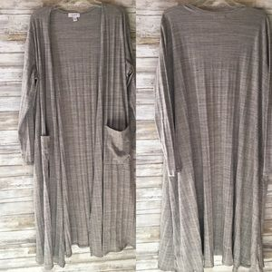 Lularoe nuetral  colored duster